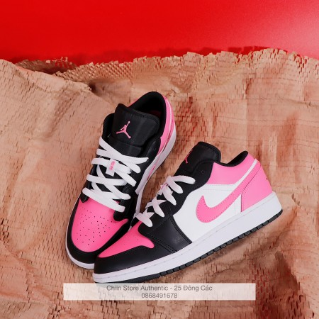 Giày Nike Air Jordan 1 Low Black Active Fuchsia CK3022-005