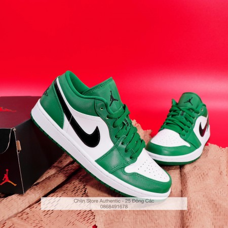 Giày Nike Jordan 1 Low 'Pine Green' 553558-301