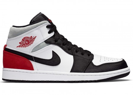 Giày Nike Air Jordan 1 Mid SE Union Black Toe BQ6931-100