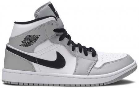 Giày Nike Air Jordan 1 Mid 'Smoke Grey' 554724-092