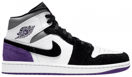 Giày Air Jordan 1 Mid SE 'Varsity Purple' 852542-105