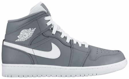 Giày Nike Air Jordan 1 Mid 'Cool Grey' 554724-036