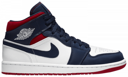 "Giày Nike Air Jordan 1 Mid ""USA"" 852542-104"