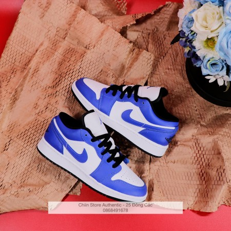 "Giày AIR JORDAN 1 LOW ""GAME ROYAL"" 553560 124"