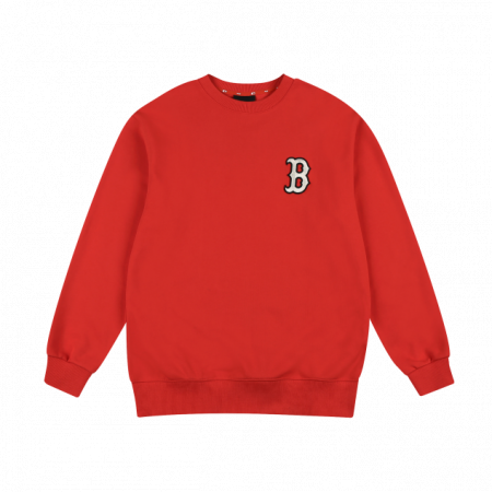 Áo nỉ MLB Logo Basic Overfit Sweatshirt Boston Red Sox 31MT08111-43R