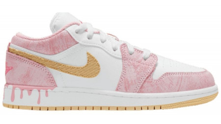 Giày Nike Air Jordan 1 Low GS 'Strawberry Ice Cream' CW7104-601