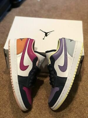 Giày Nike Air Jordan 1 Low 'Mismatched - Purple Magenta' DJ4342-400